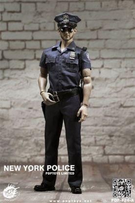 POP Toys 1/6 New York Police Policeman Figure