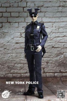POP Toys 1/6 New York Policewoman Figure