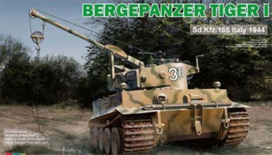 Rye Field Models 1/35 Bergepanzer Tiger I SD.KFZ. 185 Italy 1944 Model Kit