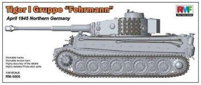 Rye Field Models 1/35 Tiger I Gruppe Fehrmann Model Kit