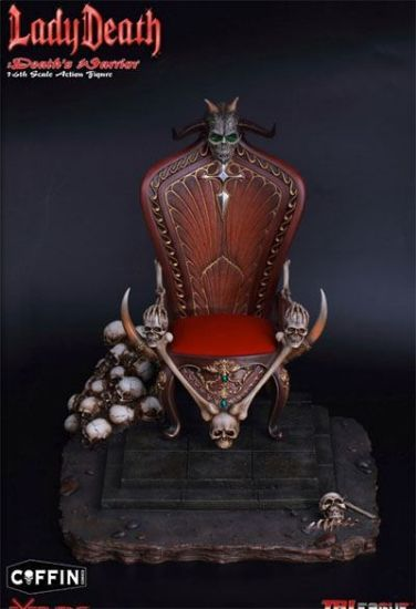 TB League Hell on Earth Death Dealer 2nd Ver Base and Throne