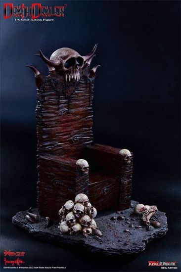 TB League Hell on Earth Death Dealer 2nd Version C Throne and Base