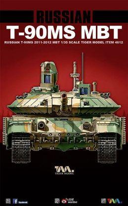 Tiger Models 1/35 Russian T-90MS MBT Tank Model Kit