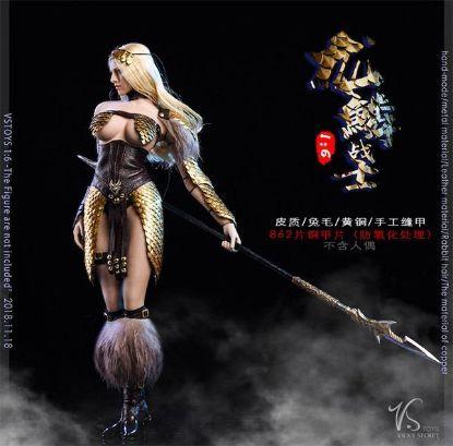 VS Toys Dragon Female Warrior Armor A Edition