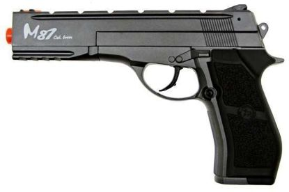 Wingun M84 Long Version Full Metal Co2 Non-Blowback Pistol Black