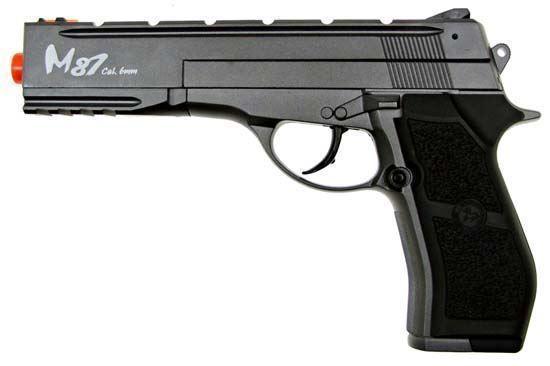 Wingun M84 Long Version Full Metal Co2 Non-Blowback Pistol Black
