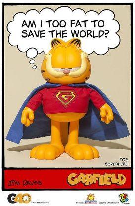 ZC World Garfield Master Series 06 Superhero