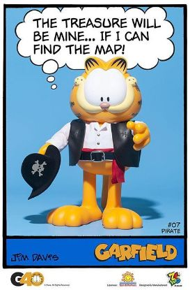 ZC World Garfield Master Series 07 Pirate