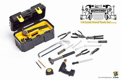 ZC World Hand Tools Set Mono 1/6 Scale