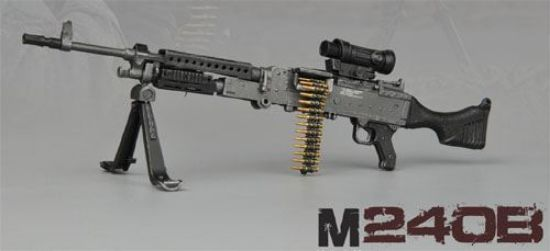 Picture of ZY Toys M240B Machine Gun 1:6 Scale