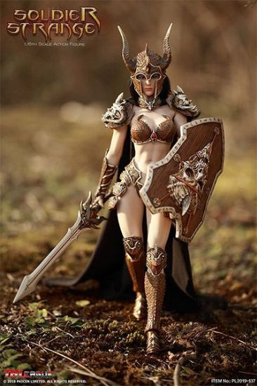 TBLeague Soldier Strange Female Boxed Figure 1/6 Scale