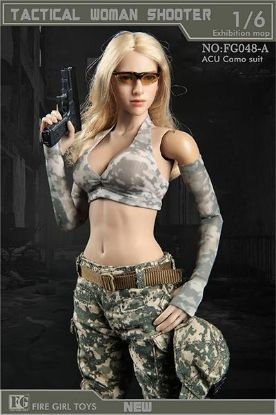 Fire Girl Toys Tactical Female Shooter Camo Accessory