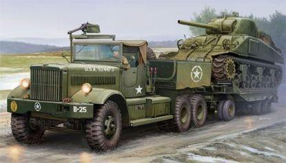 Merit 1/35 U.S. M19 Tank Transporter Soft Cab Model Kit