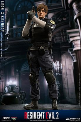 DAM Toys Resident Evil 2 Leon S Kennedy 1/6 Scale